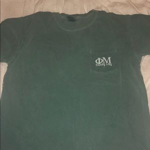Comfort Colors Tops - Phi Mu T-shirt